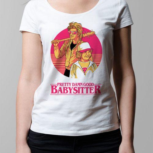 Stranger Things Season 2 Dustin and Steve Ladies' T-shirt - white