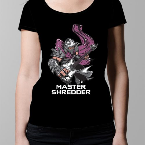 Master Shredder Ladies' T-shirt - Black