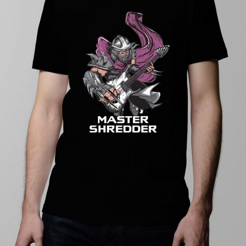 Master Shredder Men's T-shirt - Black