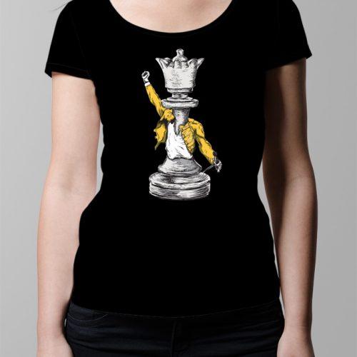 Queen Ladies' T-shirt - Black