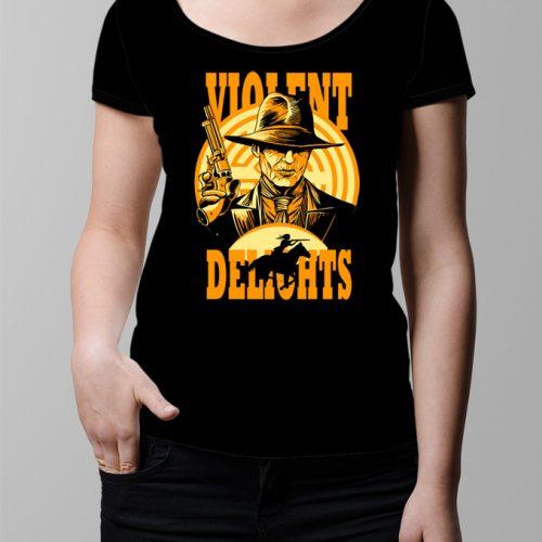 Westworld Ladies' T-shirt - Black