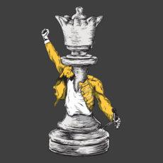 queen charcoal t-shirt