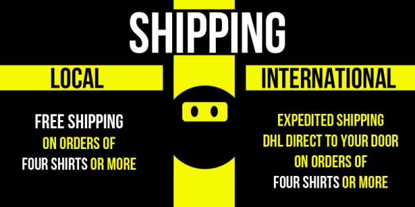 t-shirt order website free shipping banner