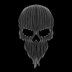 striped skull black t-shirt