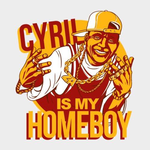 cyril ramaphosa anc white t-shirt
