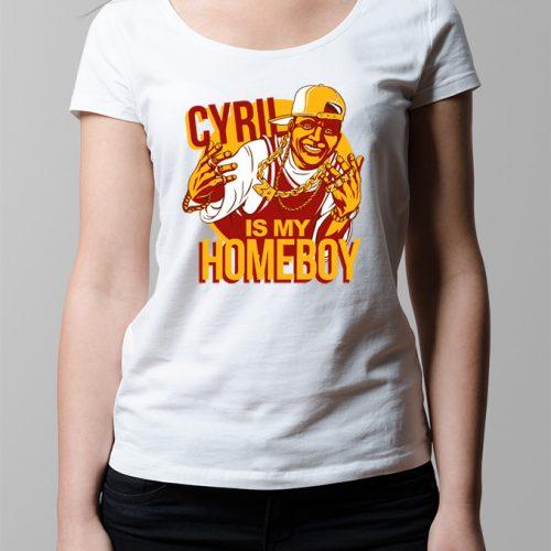 Cyril Ramaphosa ANC Ladies' T-shirt - white