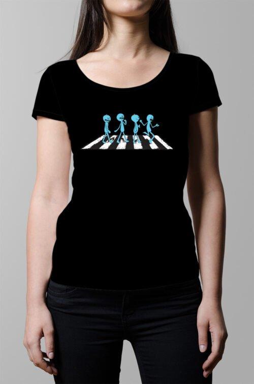 Mr Meeseeks Ladies' T-shirt - Black