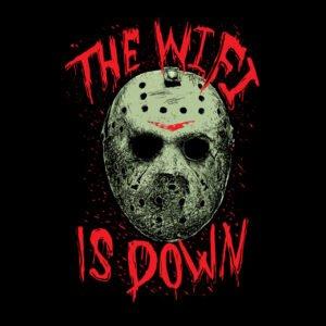 jason friday the 13th wi-fi black t-shirt