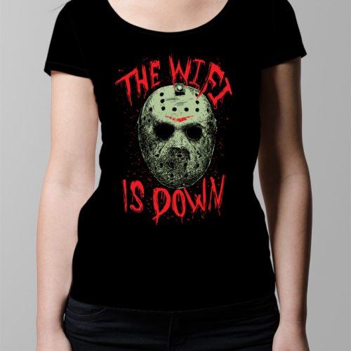 Jason Friday 13th Wi-Fi Ladies' T-shirt - black
