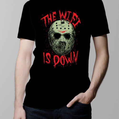 Jason Friday 13th Wi-Fi Men's T-shirt - black