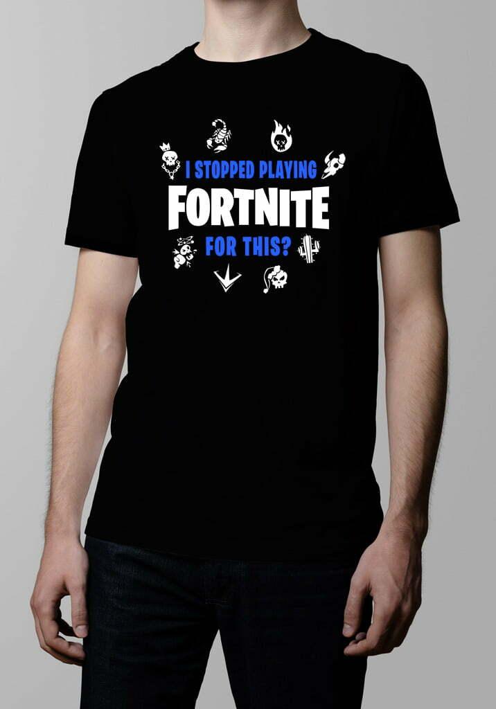 ac6c69b57 Fortnite Battle Royale Gaming Parody t-shirt by Tshirt Terrorist