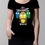 Show Me What You Got Rick and Morty Ladies' T-shirt – black