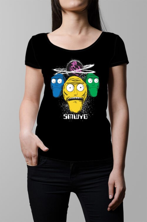 Show Me What You Got Rick and Morty Ladies' T-shirt - black