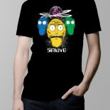Show Me What You Got Rick and Morty Men's T-shirt – black