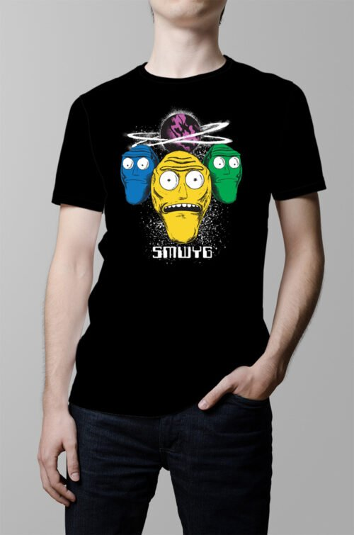 Show Me What You Got Rick and Morty Men's T-shirt - black
