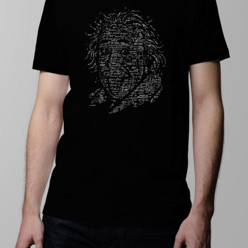 Albert Einstein Men's T-shirt - black