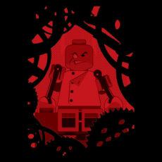 lego controller black t-shirt