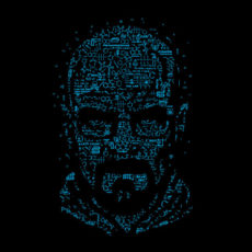 heisenberg let's cook black t-shirt