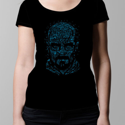 Heisenberg Let's Cook ladies' T-shirt - black