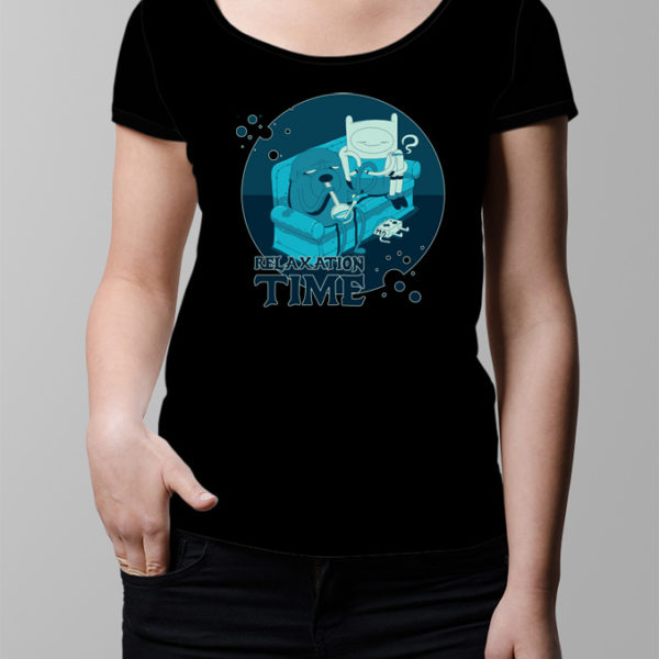 Adventure Time Ladies' T-shirt - black