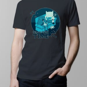 Adventure Time Men's T-shirt - charcoal