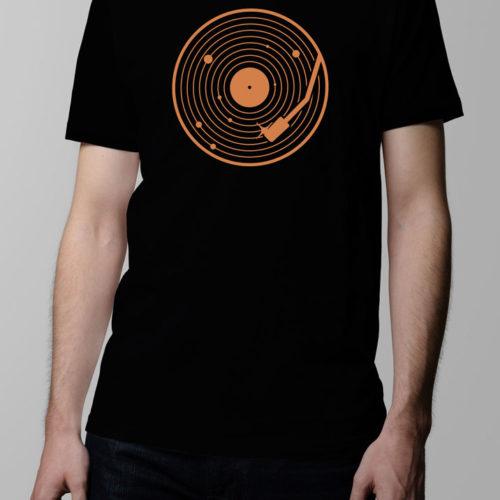 Vinyl System Men's T-shirt - black