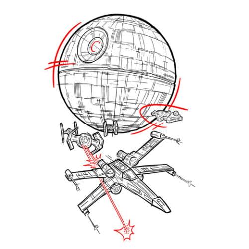 star wars rebellion white t-shirt