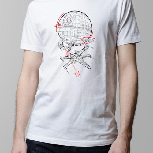 Star Wars Rebellion Men's T-shirt - white