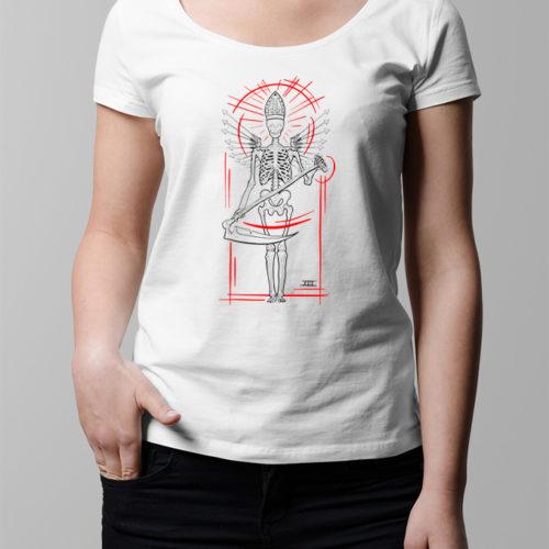 Tarot Card Ladies' T-shirt - white