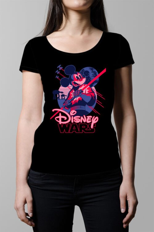 Disney Wars Ladies' Tshirt