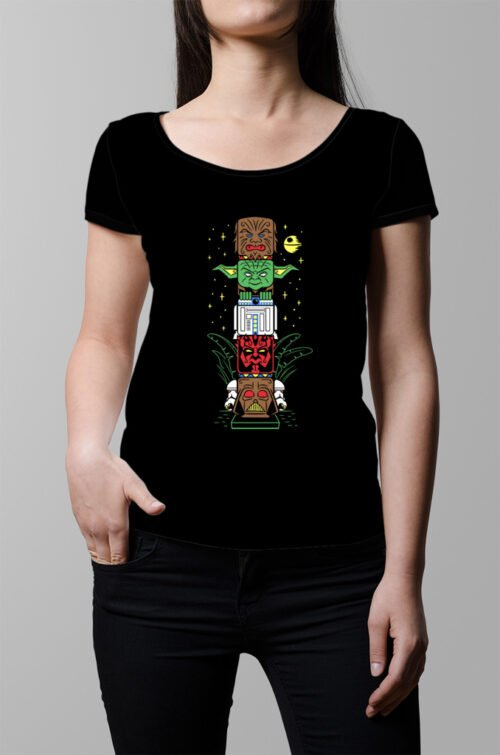 One Force Star Wars Ladies T-shirt - black