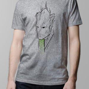 Groot The Avengers Men's Tee - melange t-shirt