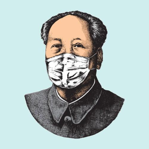 made in china coronavirus covid-19 sky t-shirt