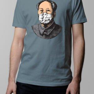 Made In China Coronavirus Covid-19 Men's T-shirt - steel