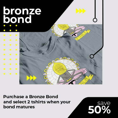 tshirt terrorist bronze t-shirt bond for online shop