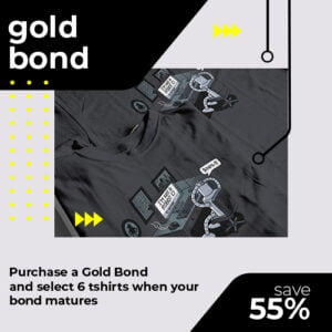 tshirt terrorist gold t-shirt bond for online shop