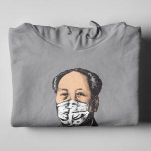 Made in China Chairman Mao Covid-19 Hoodie - folded