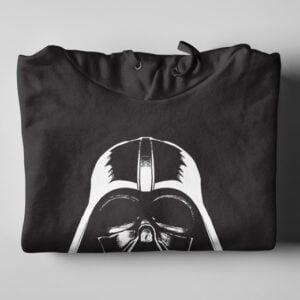 Pappa Wag Vir Jou Afrikaans Star Wars Black Hoodie - folded