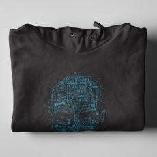 Heisenberg Breaking Bad Walter White Black Hoodie - folded