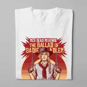 Sadie Adler Red Dead Redemption Tee - folded long