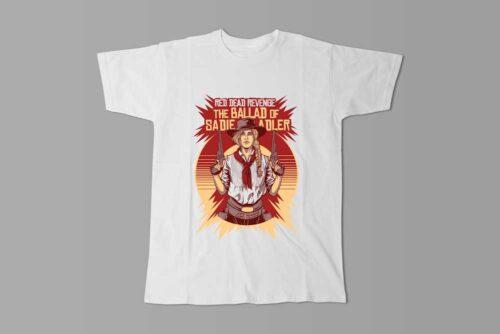Sadie Adler Red Dead Redemption Men's Tee - white