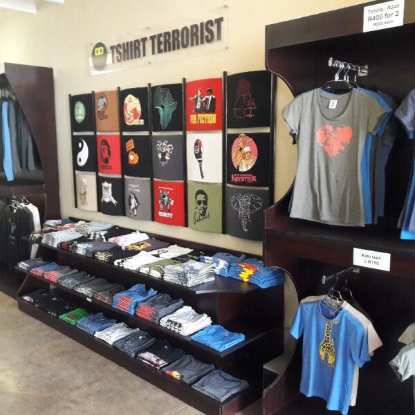 Tshirt Terrorist Parkhurst - HQ3