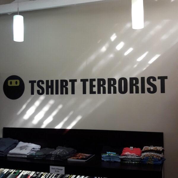 Tshirt Terrorist Parkhurst - HQ1