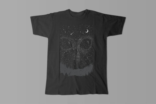 We Are Not Alone Gamma-Ray Graphic Design Men's Tee - black