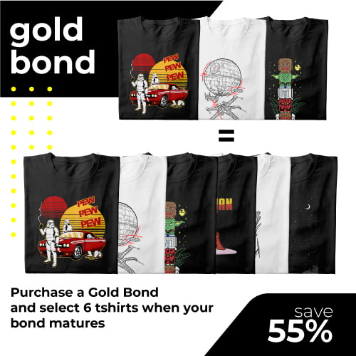 tshirt terrorist gold t-shirt bond for online shop