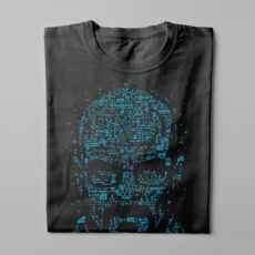 Let's Cook Heisenberg Gamma-Ray Graphic Design Men's Tee - black - folded long