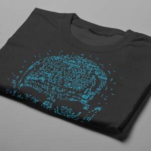 Let's Cook Heisenberg Gamma-Ray Graphic Design Men's Tee - black - folded short