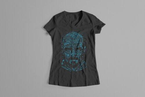 Let's Cook Heisenberg Gamma-Ray Graphic Design Ladies' Tee - black