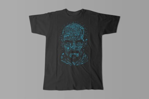 Let's Cook Heisenberg Gamma-Ray Graphic Design Men's Tee - black