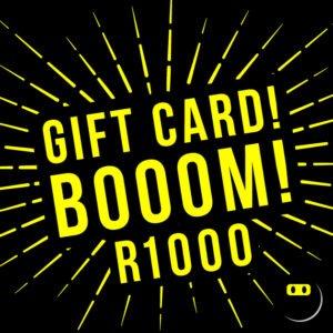 Tshirt Terrorist Cool and Funny T-shirt Gift Card - R1000